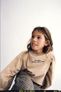 Zara kids styling assisted by Daniela Gil
