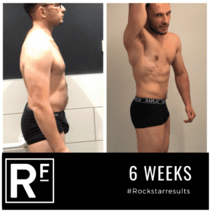 6 week body transformation london - Before and after - Samir 4