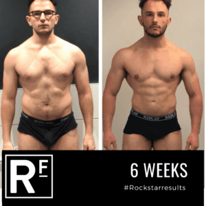 6 week body transformation london - Before and after - Samir 6