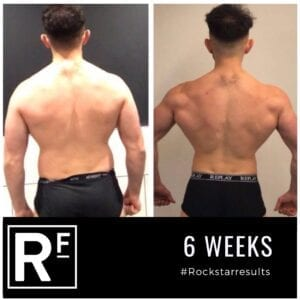 6 week body transformation london - Before and after - Samir