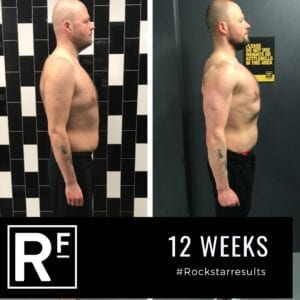 12 week body transformation london - Before and after - P