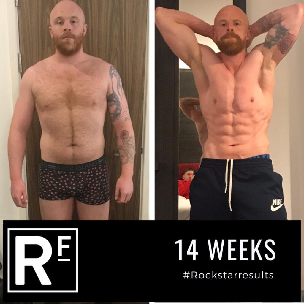14 week body transformation - london