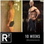 10 week body transformation london - Before and after - Duncan Photoshoot