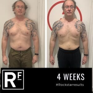 4 week body transformation london - Before and after-Malcolm