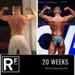 20 week body transformation london - Before and after - Comp prep