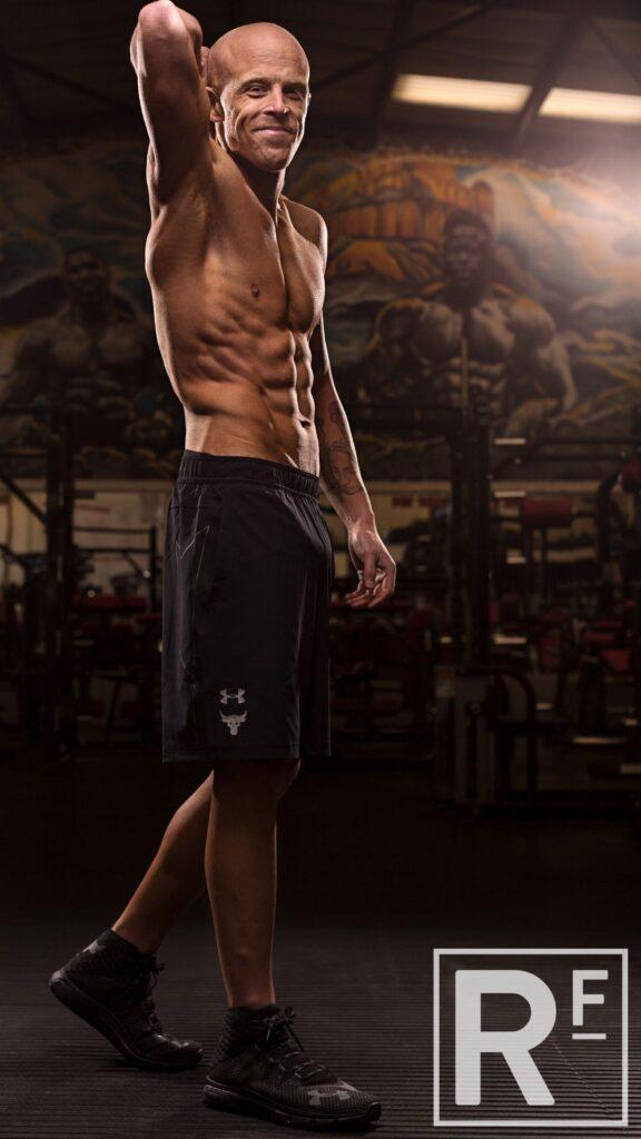 16 weeks Personal Training London - Body Transformation - Tom