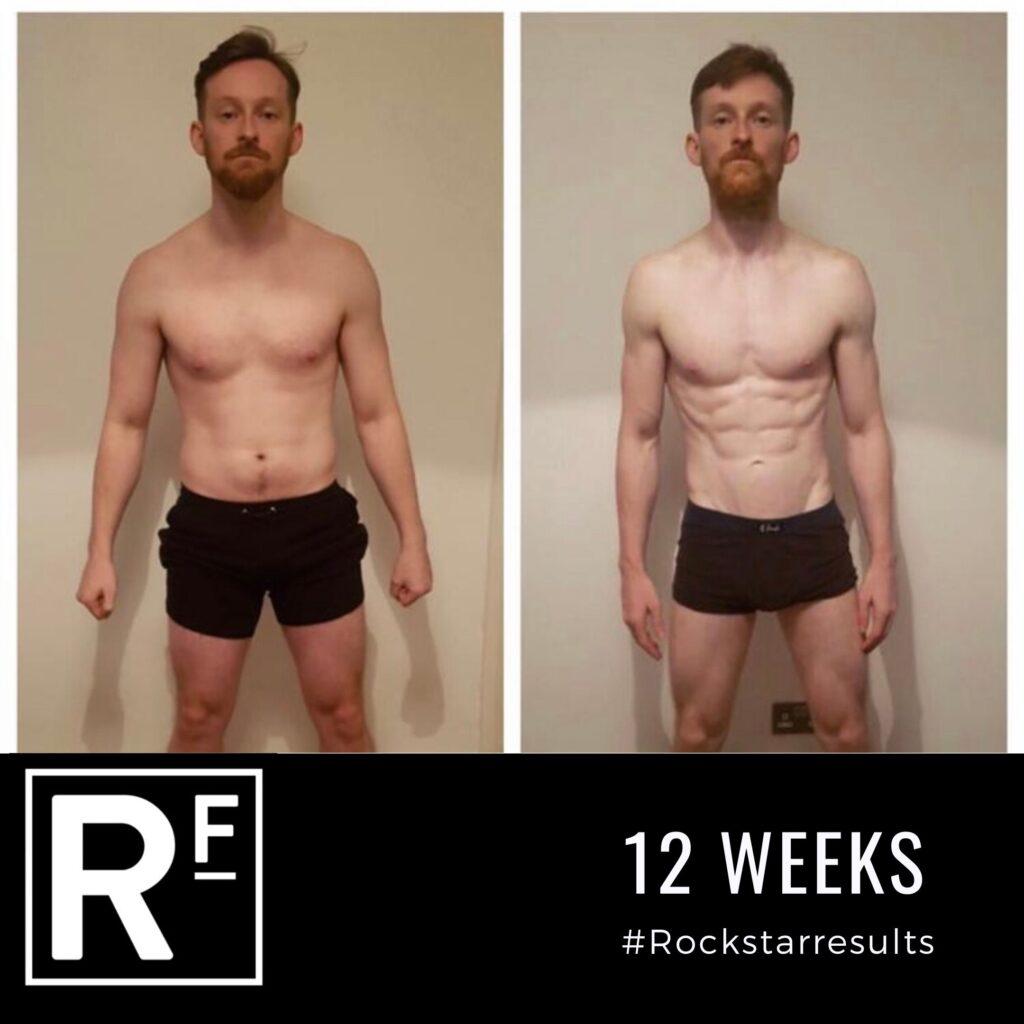 12 week body transformation- Personal Training-Simon 3