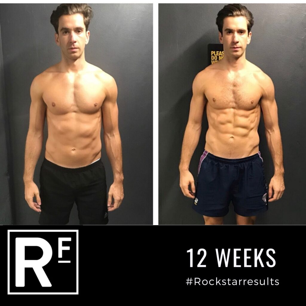 12 week body transformation- Personal Training- Charles 2