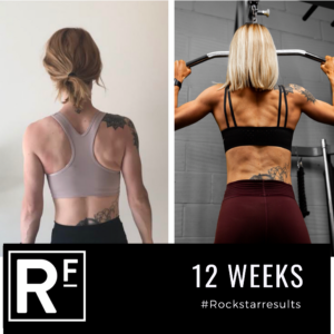 Body Transformation- Lucy- 12 weeks