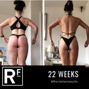Body Transformation- Victoria- 22 weeks