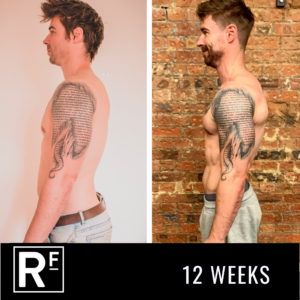 12 week body transformation - london- James Turner 3
