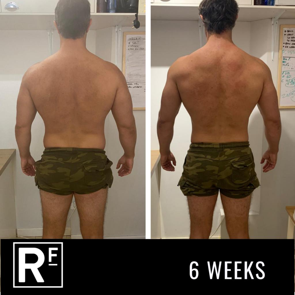 6 week body transformation - london- Tom Whitehead 4
