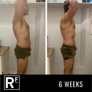 6 week body transformation - london- Tom Whitehead 3