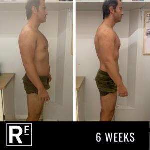 6 week body transformation - london- Tom Whitehead 2