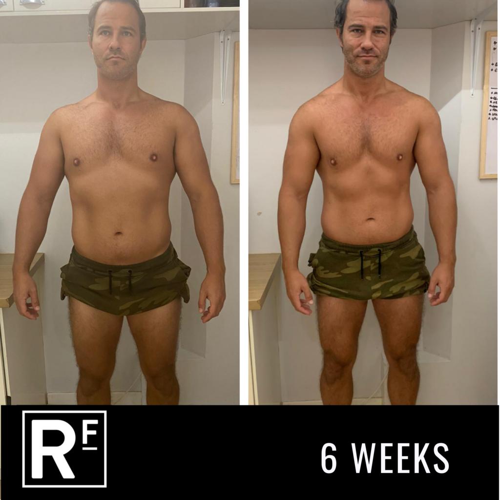 6 week body transformation - london- Tom Whitehead