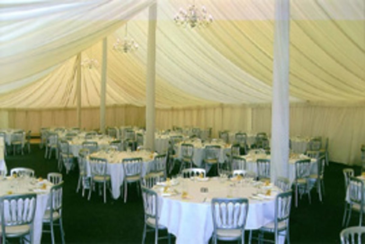 County Marquees East Anglia - Marquee Hire Essex-large-marquee-interior-traditional-wedding