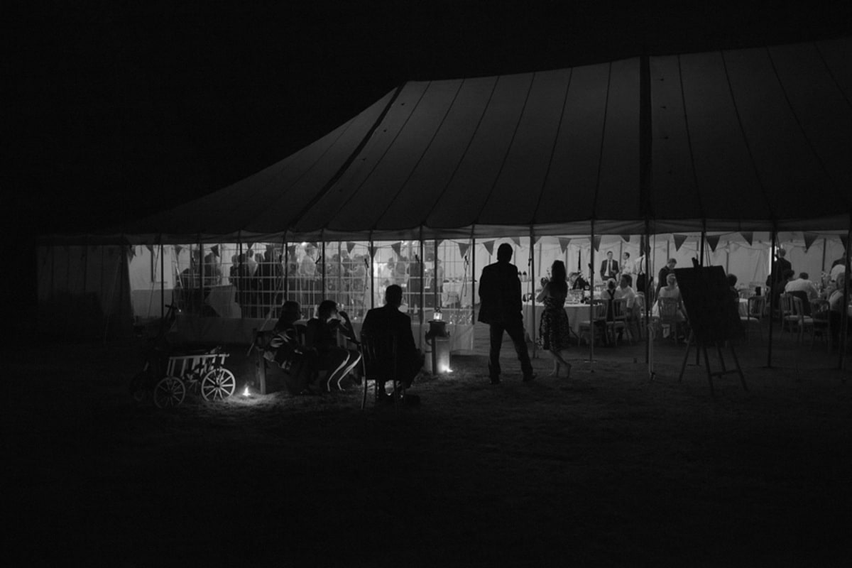County Marquees East Anglia - Marquee Hire Essex-large-traditional-marquee-black-white