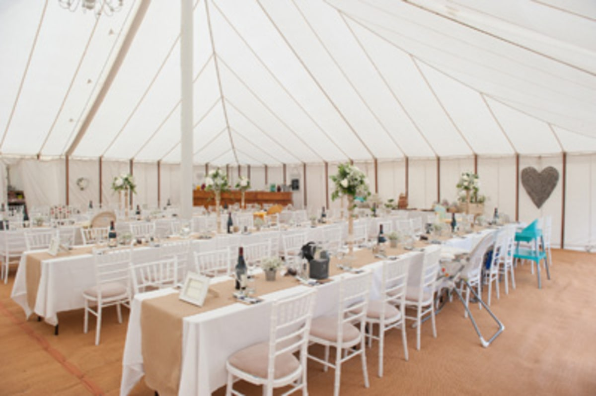 County Marquees East Anglia - Marquee Hire Essex-large-traditional-marquee-interior