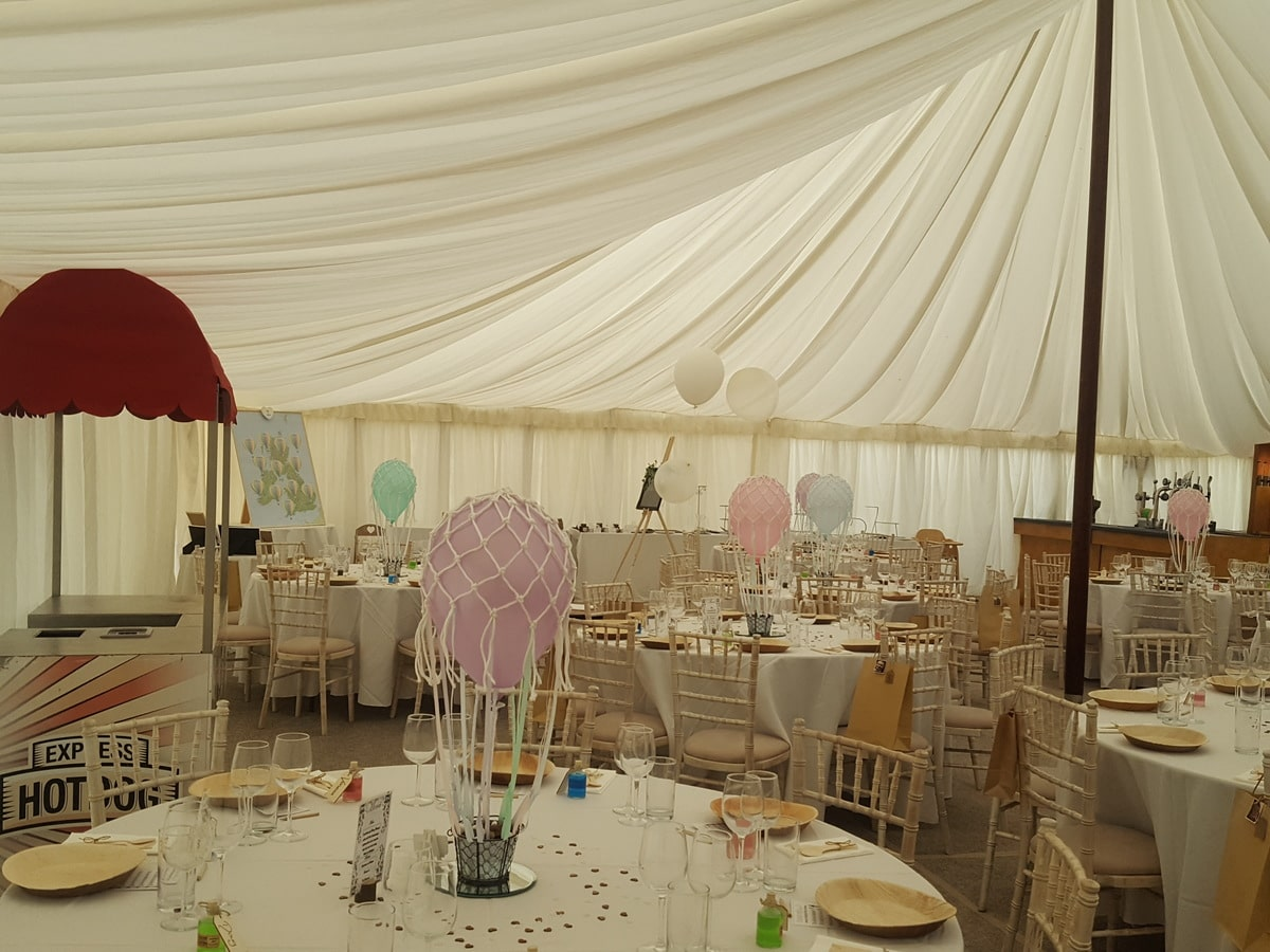 County Marquees East Anglia - Marquee Hire Essex-luxury-lined-traditional-marquee