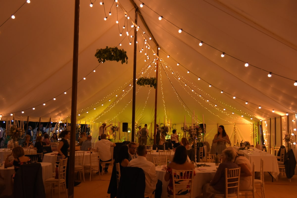 County Marquees East Anglia - Marquee Hire Essex-traditional-marquee-at-night-gallery
