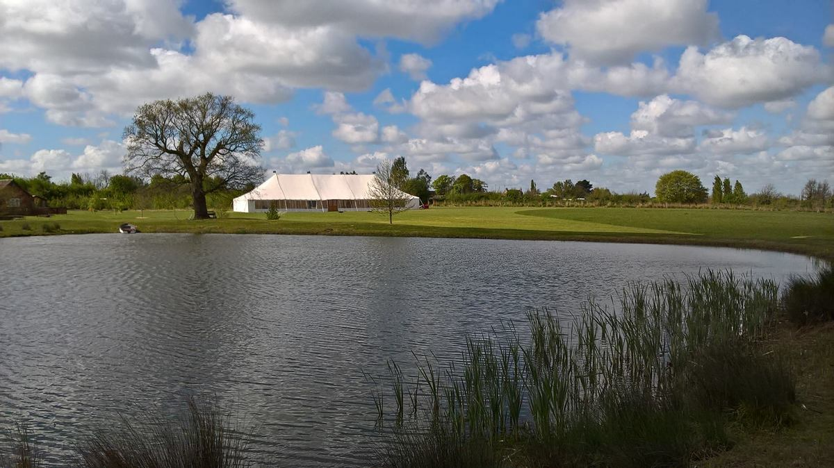 County Marquees East Anglia - Marquee Hire Essex-traditional-marquee-hire-golf-club-lake