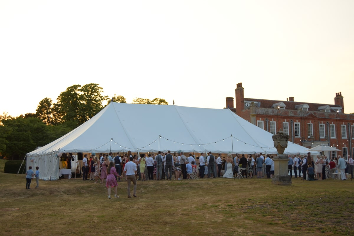 County Marquees East Anglia - Marquee Hire Essex-traditional-marquee-hire-manor-house-day
