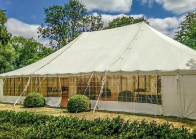 County Marquees East Anglia - Marquee Hire Essex-traditional-marquee-hire-rustic-look-exteriror