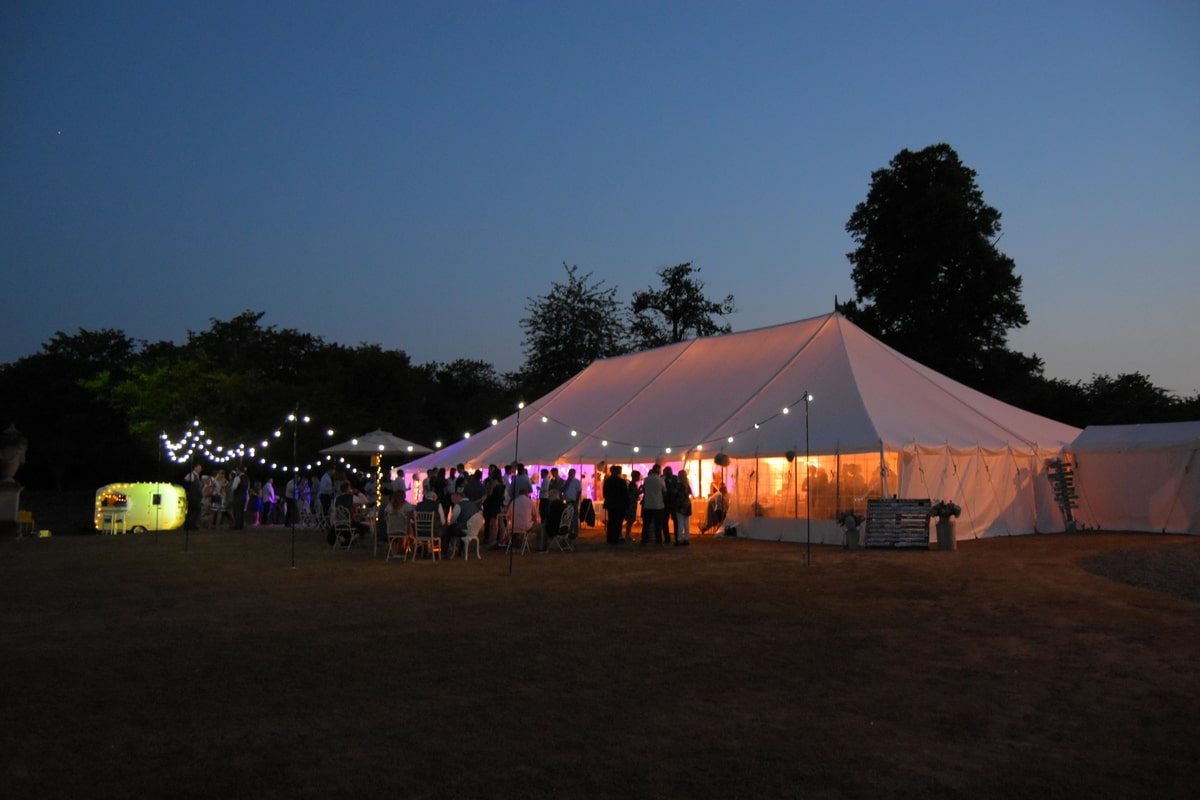 County Marquees East Anglia - Marquee Hire Essex-traditional-marquee-hire-at-night