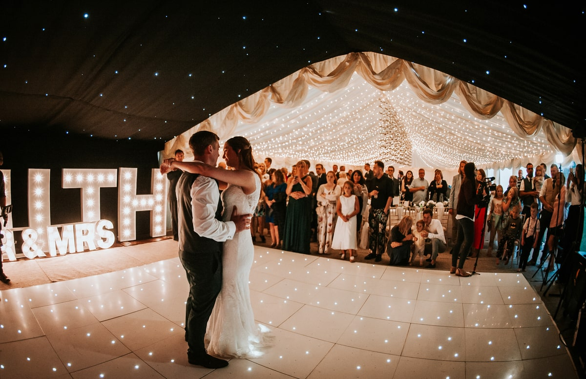 County Marquees East Anglia - Marquee Hire in Essex-clear-span-marquee-hire-first-dance