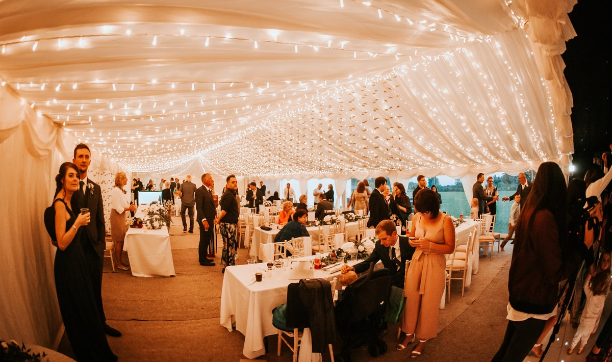 County Marquees East Anglia - Marquee Hire in Essex-clear-span-marquee-hire-sit-down-meal