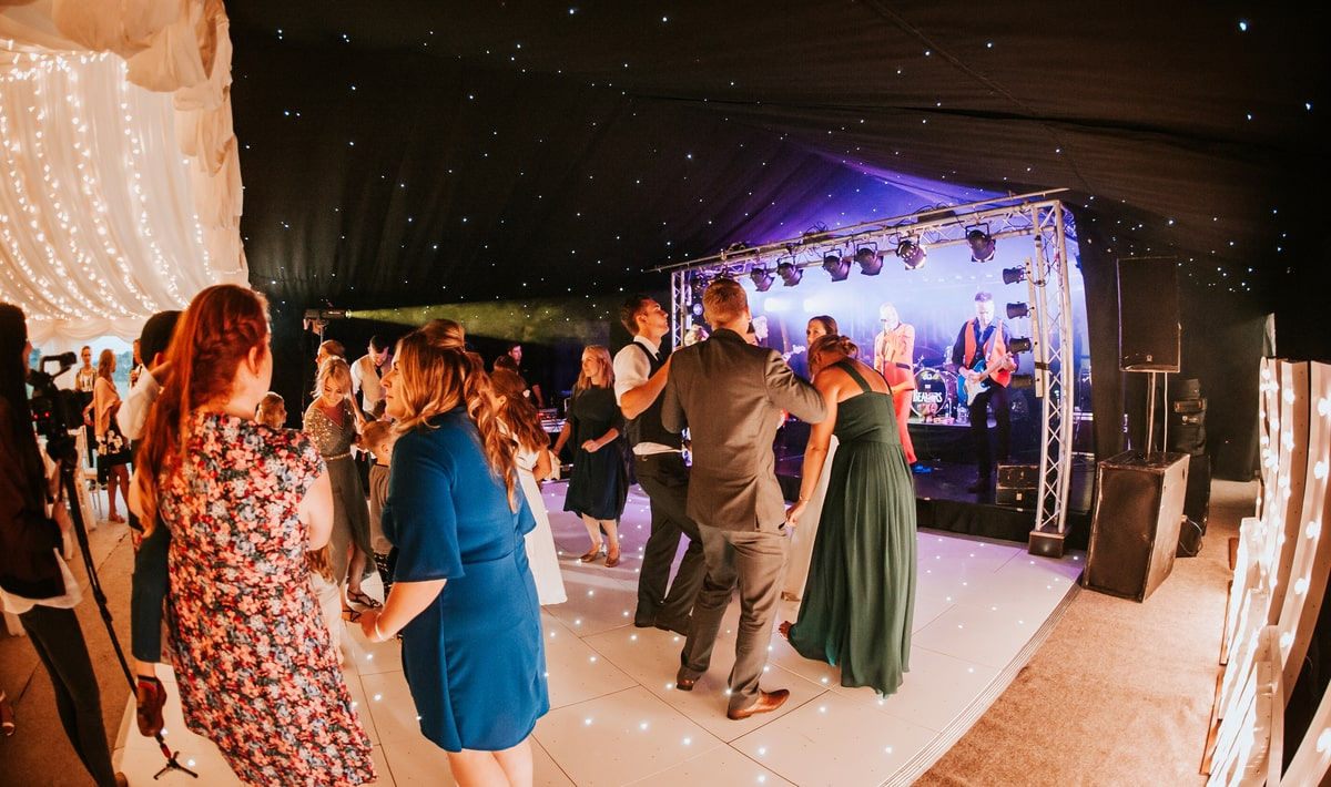 County Marquees East Anglia - Marquee Hire in Essex-clear-span-marquee-hire-wedding-light-up-dancefloor
