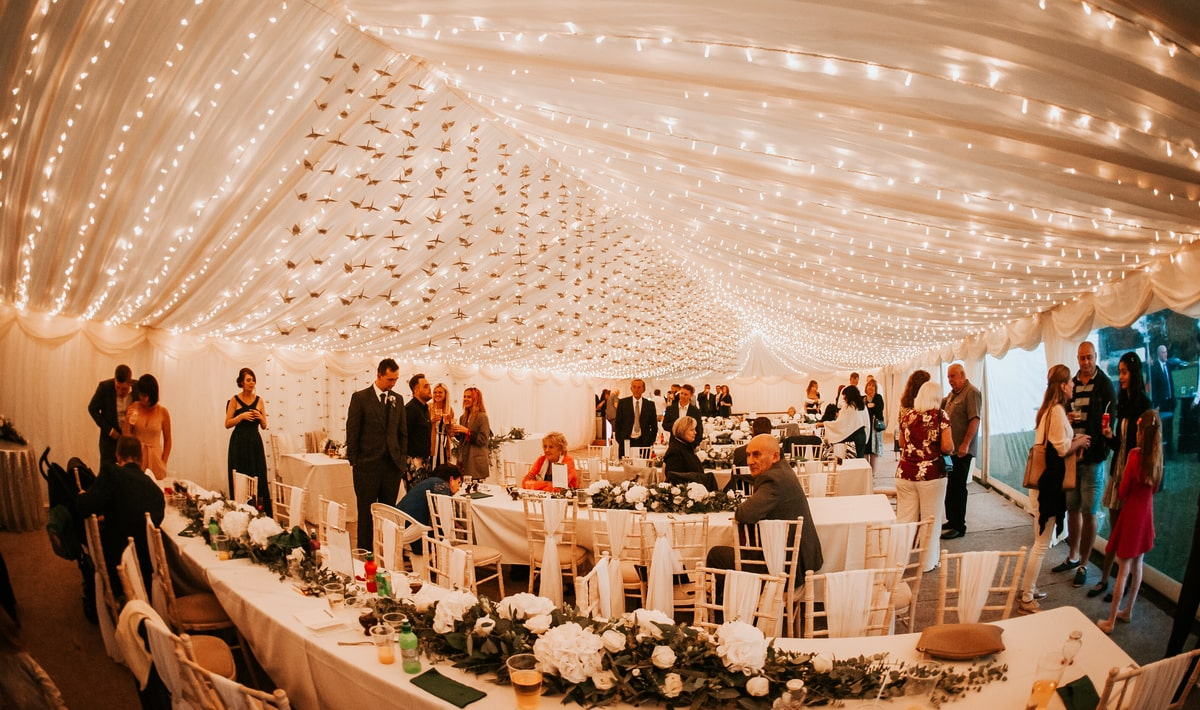 County Marquees East Anglia - Marquee Hire in Essex-clear-span-marquee-hire-wedding-reception