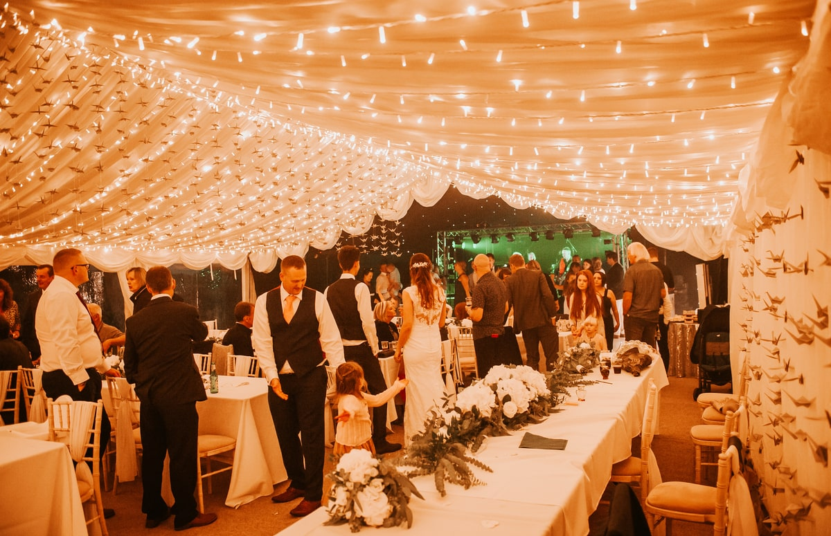 County Marquees East Anglia - Marquee Hire in Essex-clear-span-marquee-lined