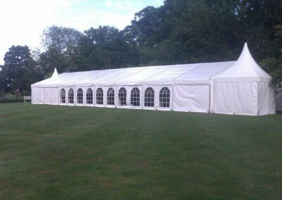 County Marquees East Anglia - Marquee Hire in Essex-large-clear-span-marquee-hire-chinese-hat-add-on