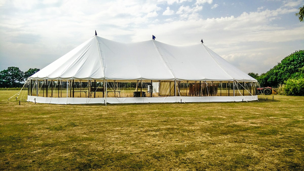 County Marquees East Anglia - Marquee Hire in Essex-large-sail-cloth-marquee
