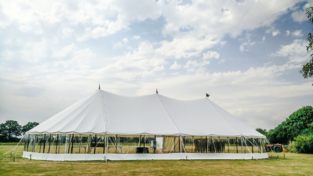 County Marquees East Anglia - Marquee Hire in Essex-sail-cloth-marquee-hire-panoramic-sides-exterior
