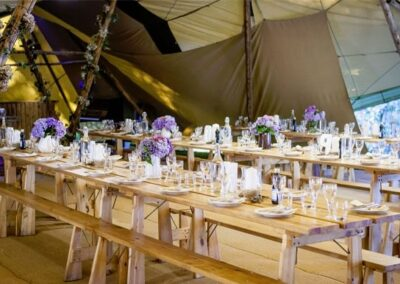County Marquees East Anglia - Tables-and-benches