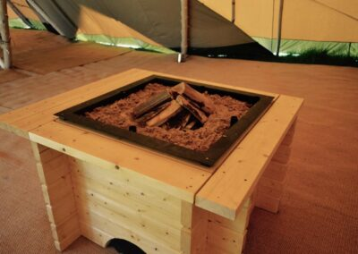County Marquees East Anglia - interior-fire-pit