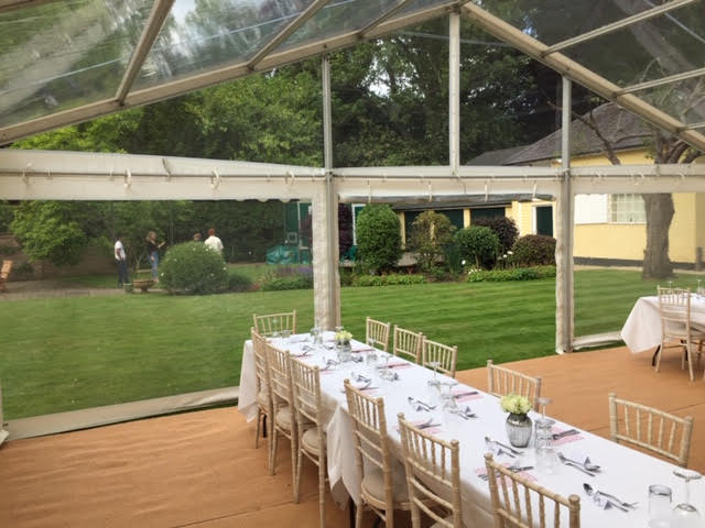 County Marquees East Anglia Clear Span Marquee Interior Decorated-min