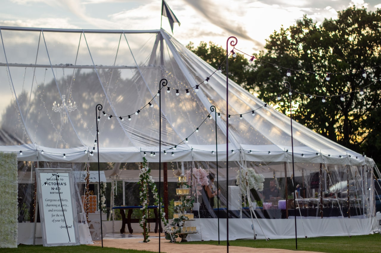 County Marquees East Anglia Party Marquee 34