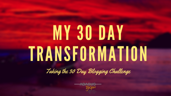 My30DayTransformation