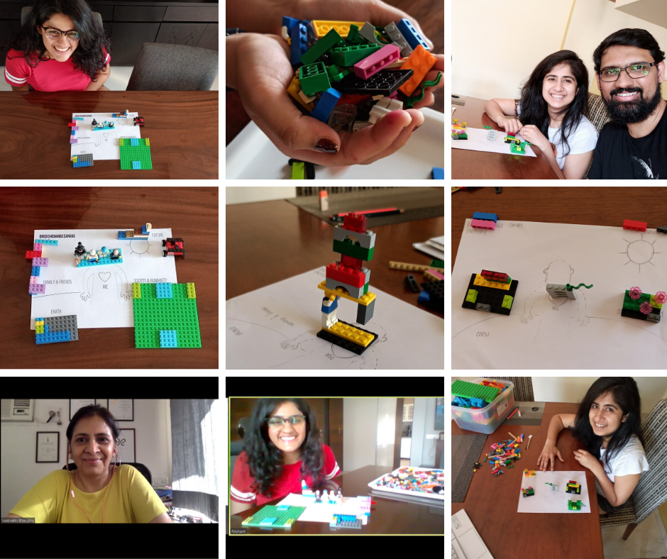 Sharing insights from the youth through our dialogue with young people on Climate Change, using LEGO SERIOUS PLAY. Here's the second one