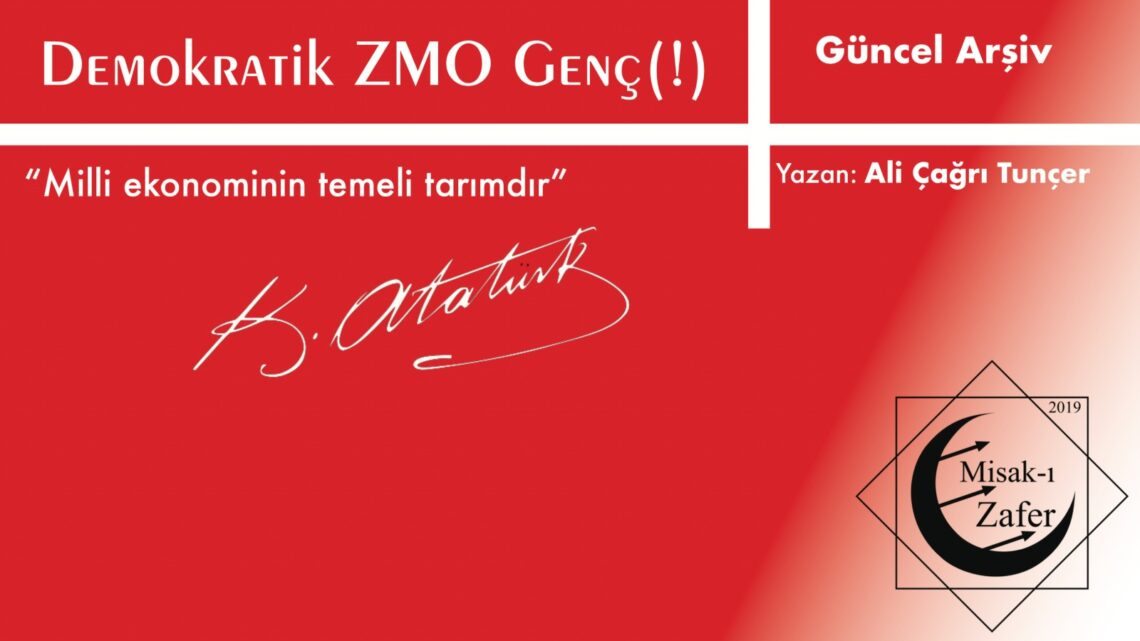 DEMOKRATİK ZMO-GENÇ(!)