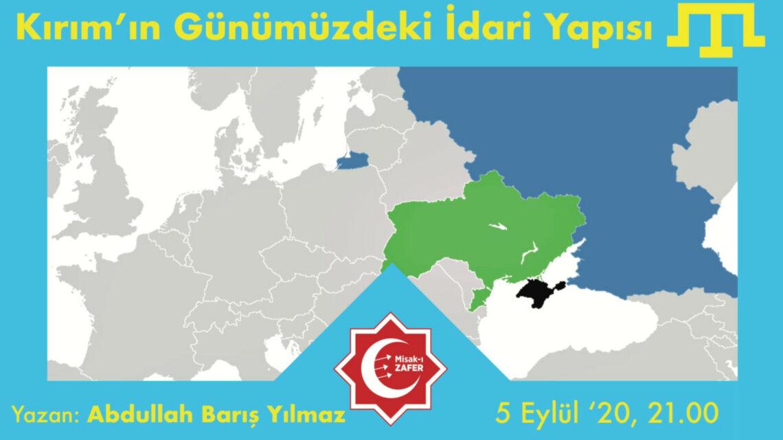 Kırım'ın Günümüzdeki İdari Yapısı