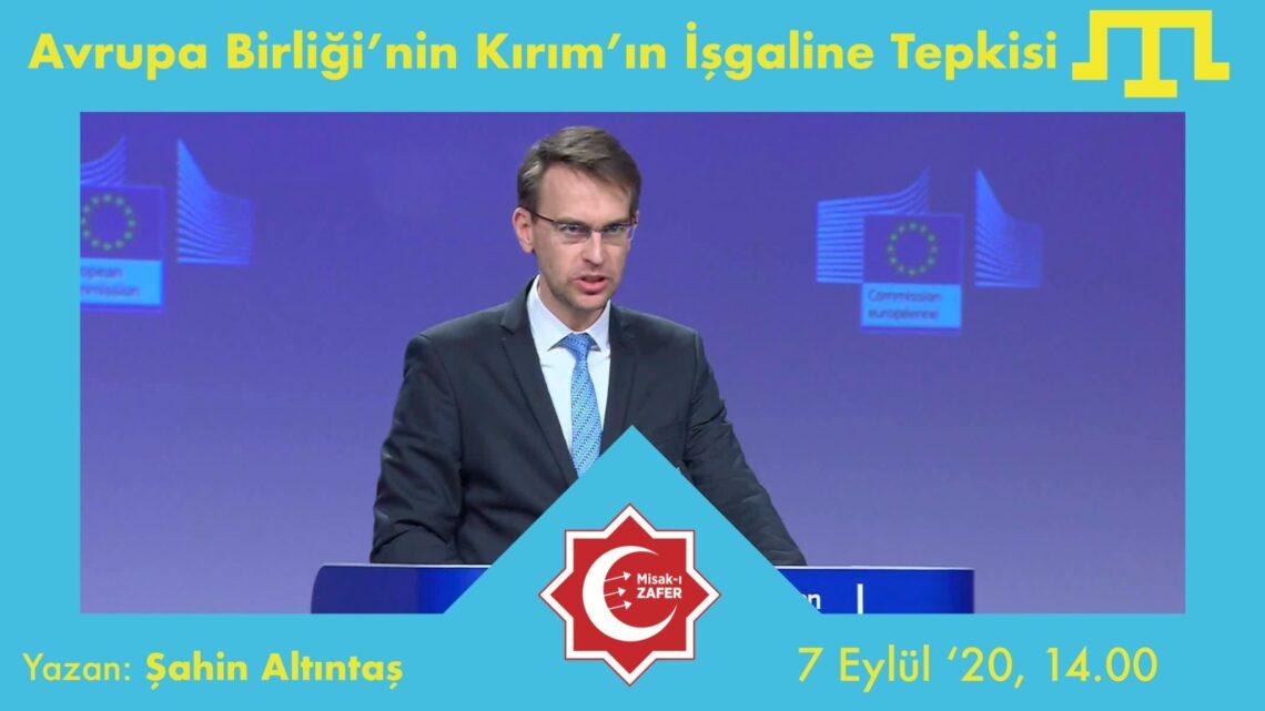 Avrupa Birliği'nin Kırım'ın İşgaline Tepkisi