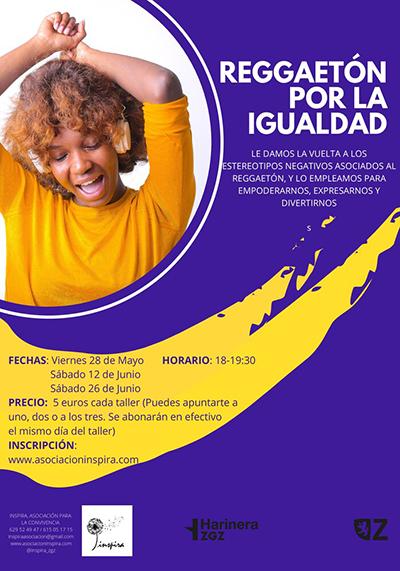 Cartel REGGAETÓN POR LA IGUALDAD400x571