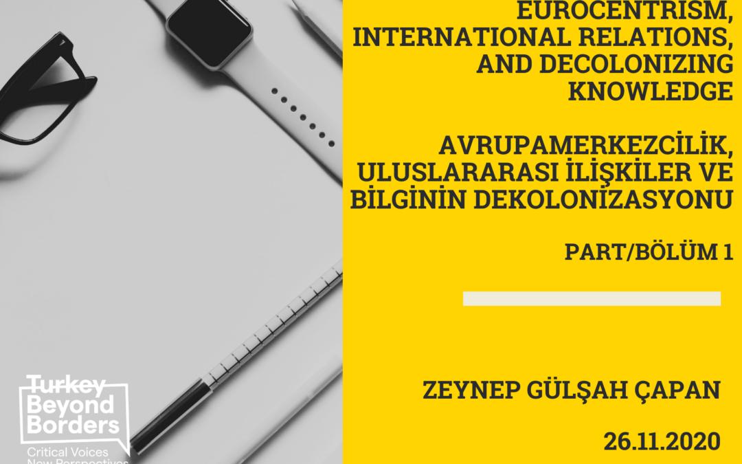 Zeynep Gülşah Çapan Part/Bölüm 1