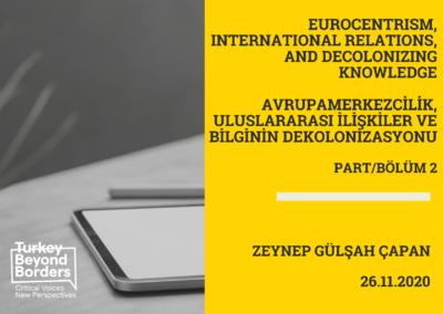 Zeynep Gülşah Çapan Part/Bölüm 2