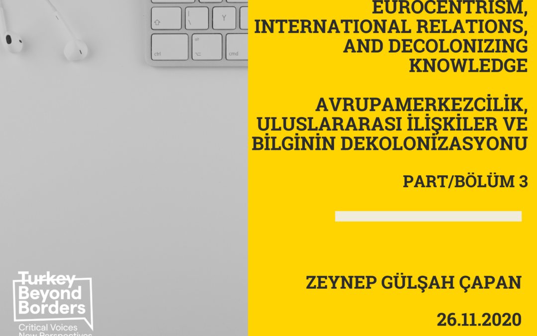 Zeynep Gülşah Çapan Part/Bölüm 3