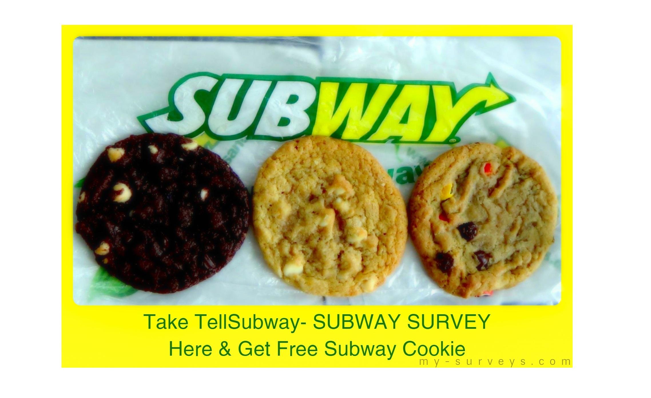 tell Subway Survey